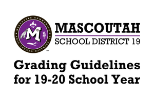 Grading Guidelines for 19-20 School Year