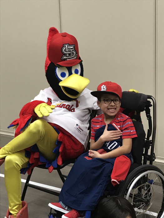 Yadi's number one fan!