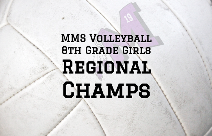MMS Volleyball Regional Champs