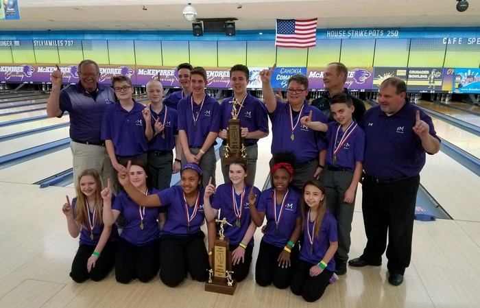 Boys & Girls Bowling Are State Champs