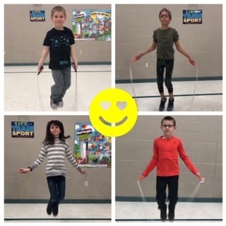 SES Students Jump for the American Heart Association!