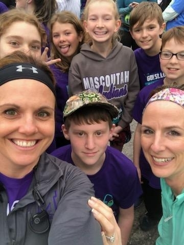 MMS RRR successfully completed the Go St. Louis 5K tonight!