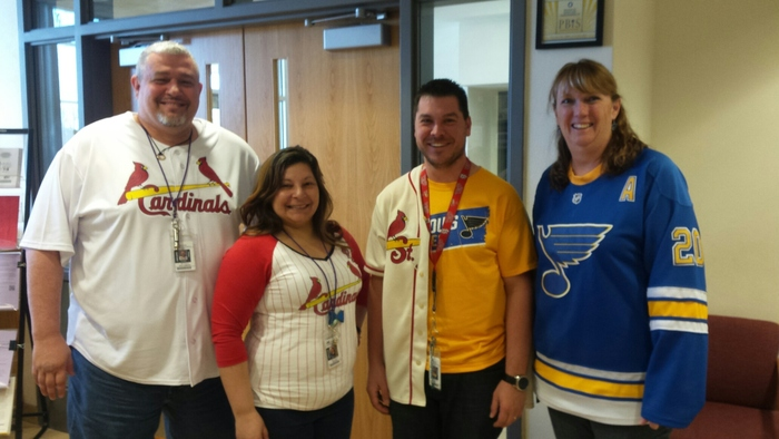 "Staff is ""Teaming"" up to beat Leukemia and Lymphoma"