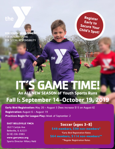 YMCA Soccer News