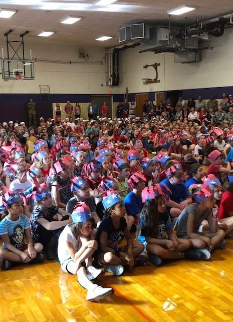 3-5 Patriots Day Assembly