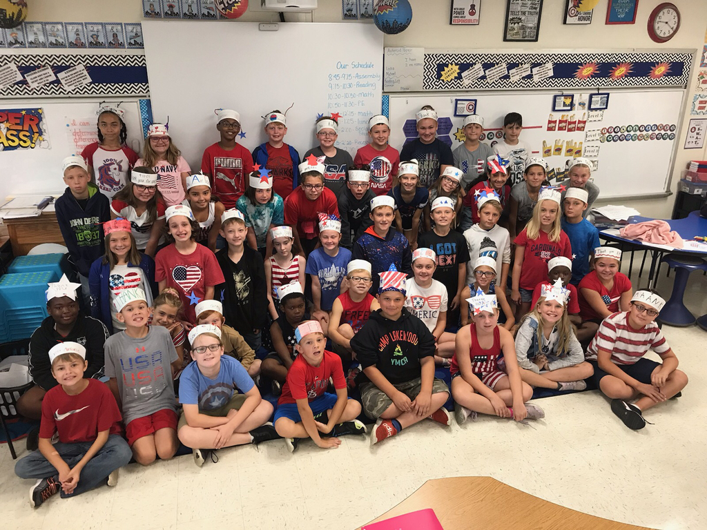 Mrs. Crismon and Mrs. Loden's class
