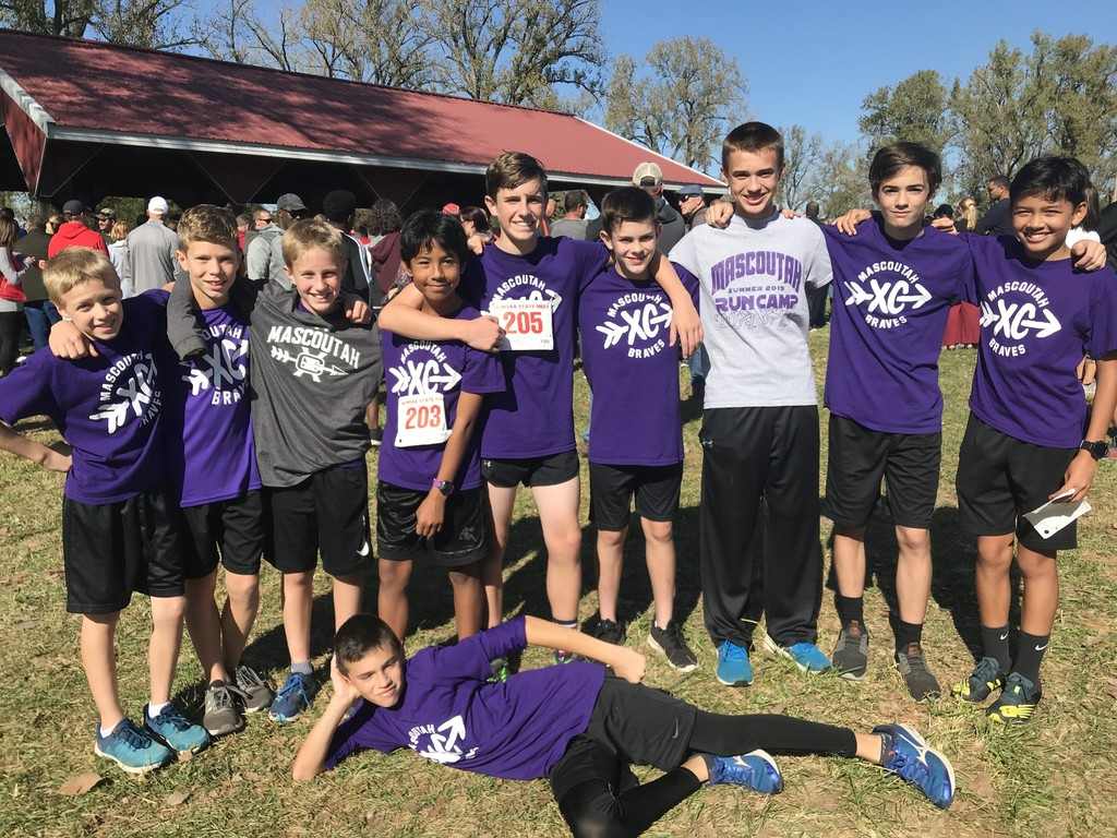 MMS Cross Country boys