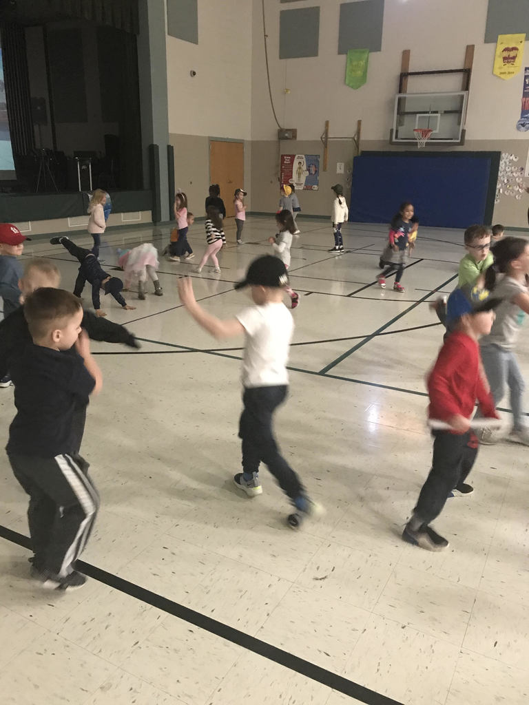 Check out Mrs. Black's and Mrs. Roe's students showing off their dance moves at the SES Sock Hop!