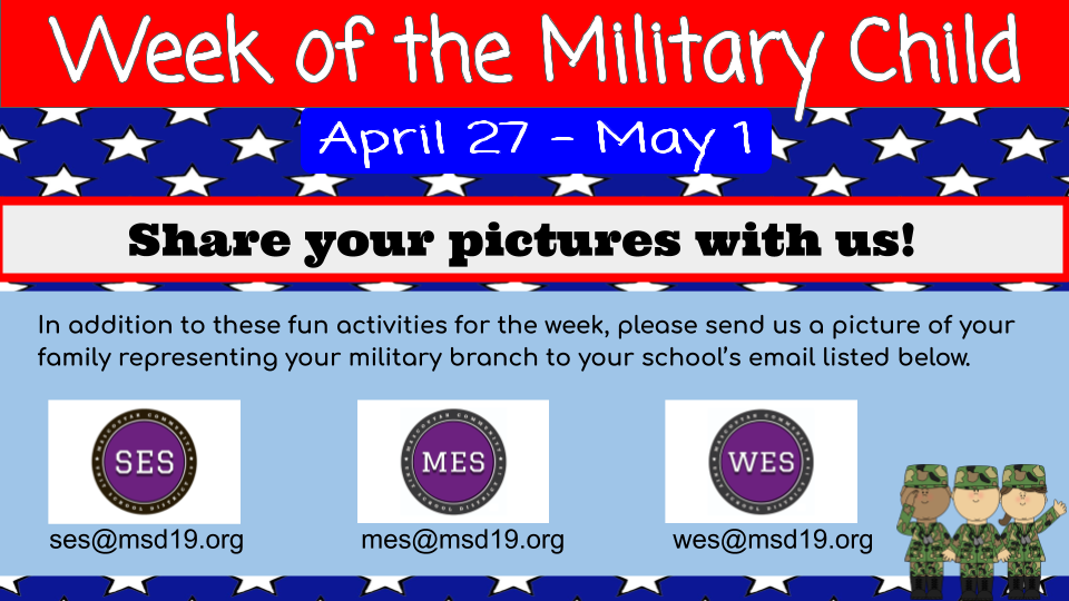 week of the military child