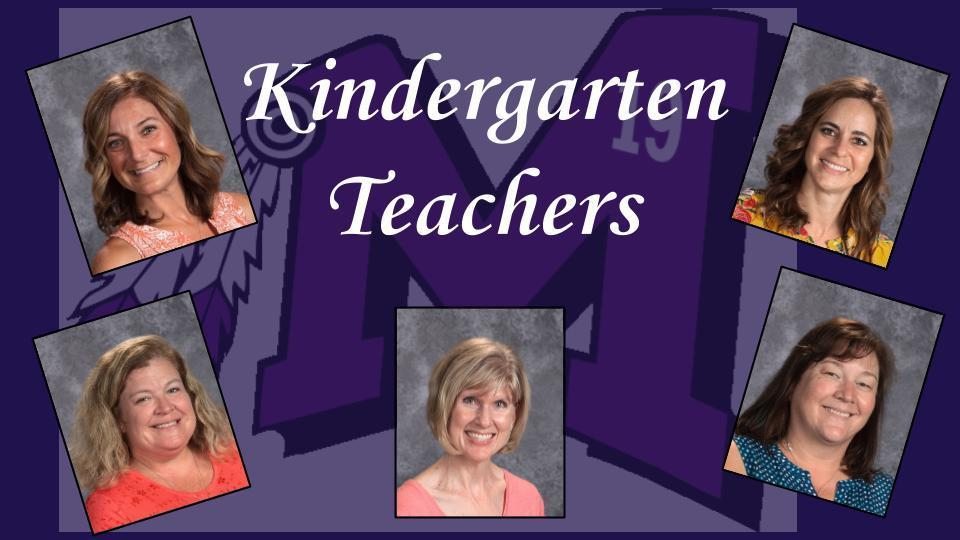 MES Kindergarten Teachers