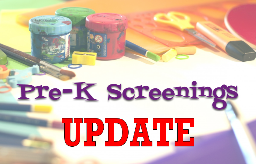 Pre-K Screenings
