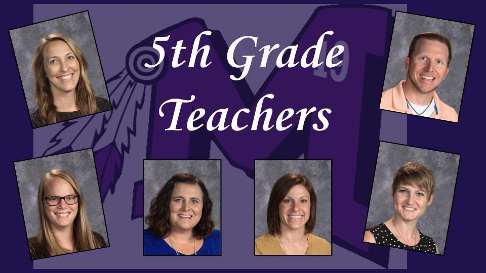 MES 5th Grade Teachers